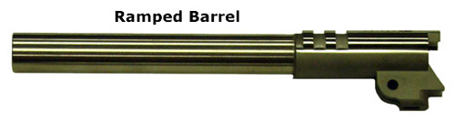 1911 Ramped Barrel - Photo courtesy of Briley