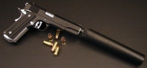 TACTICAL ARMZ DARK OP .45  COLT 1911 SILENCER