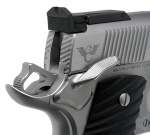 Wilson Combat Bullet Proof 1911 Wide Ambi Safety