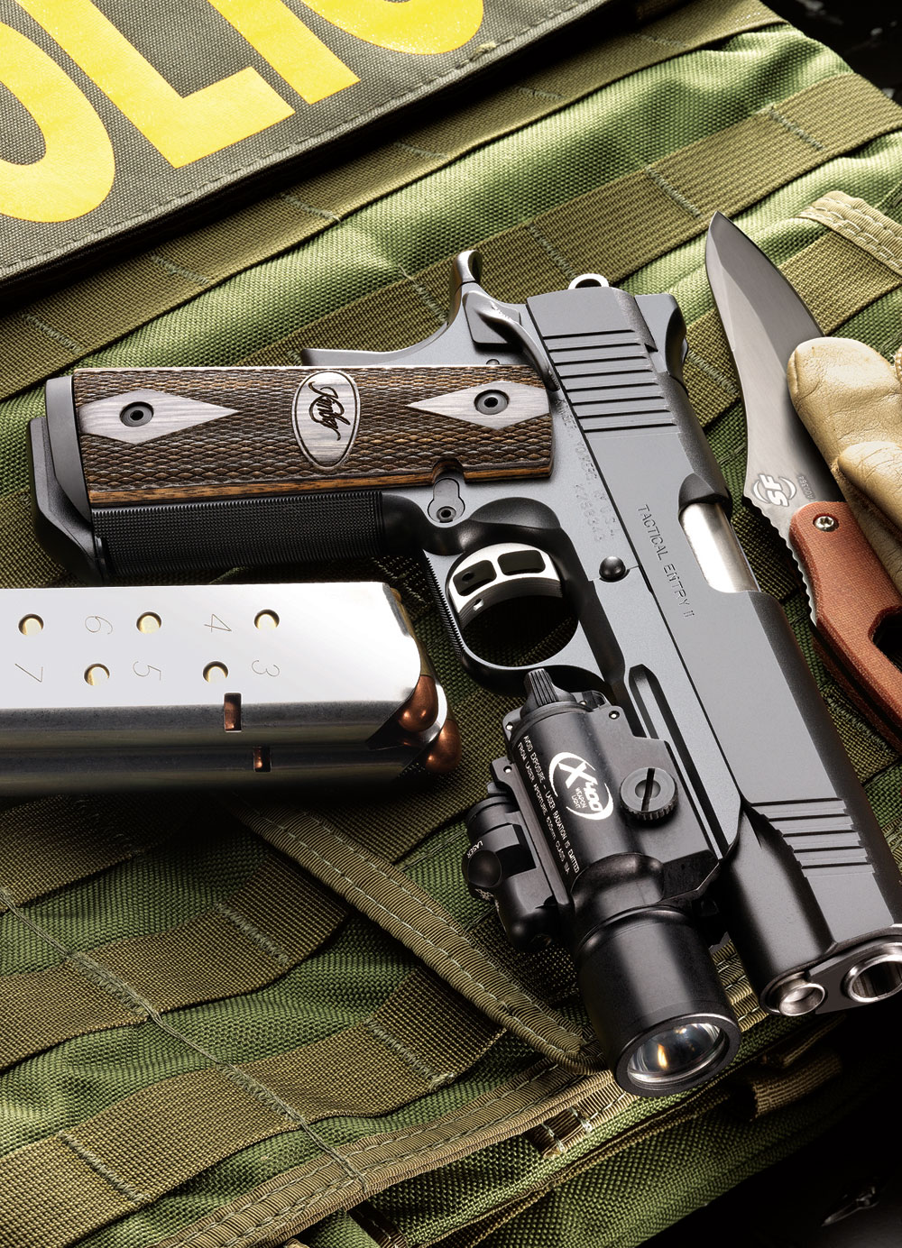 KIMBER Tactical Entry II .45